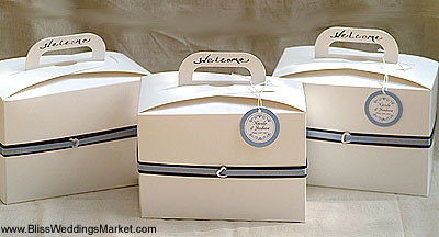 Tote Boxes as Out of Town Gift Boxes