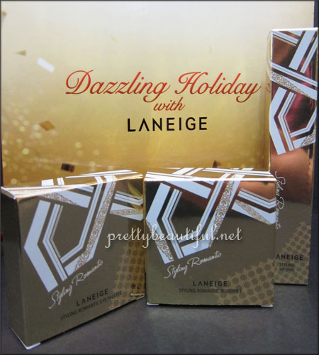 Dazzling Holiday with Laneige
