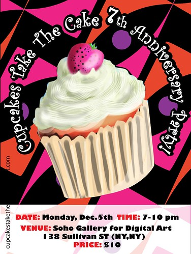 Cupcakes Take The Cake's Seventh Anniversary Party