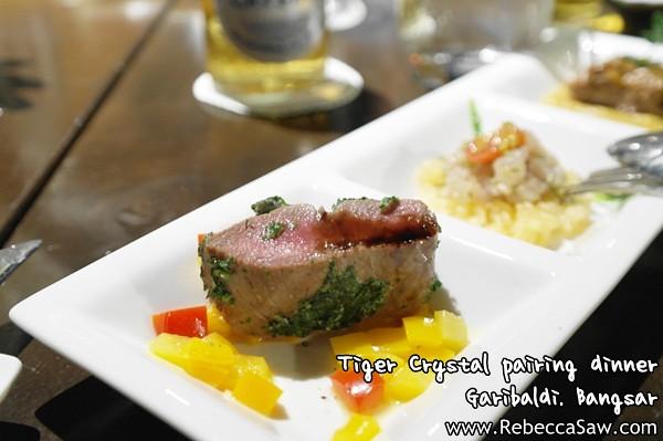 Tiger Crystal pairing dinner - Garibaldi Bangsar-5