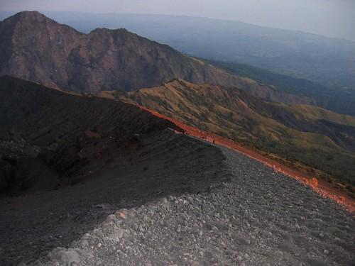 indonesia dawn volcano lombok ascent rinjani indonésie melvilleb