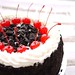 Oreos and Cherries on a Birthday Cake