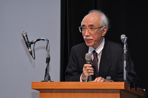 日本學者加藤和久強調環境議題無國界,應跨國合作並且是由下而上的環境治理。(圖片來源:荒野保護協會)