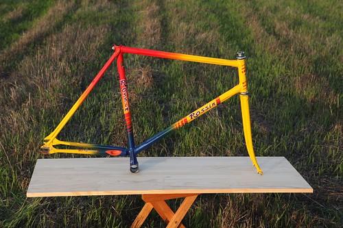 Super ODD & RARE!! ROSSIN Track Frame