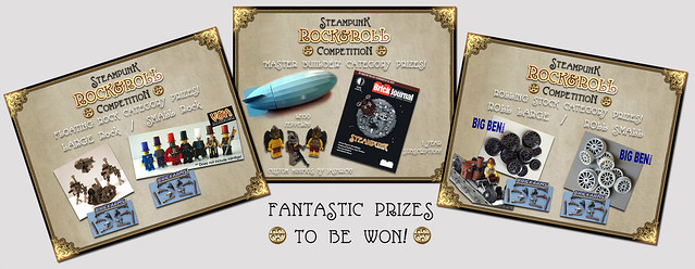 Fantastic Prizes to be WON!