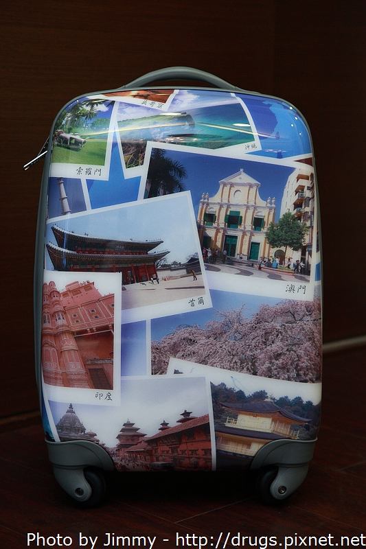 ikon 相片行李箱 環遊世界