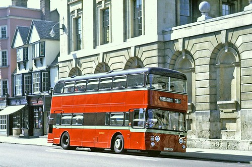 City of Oxford Motor Services: 392 MJO392H 1970 Daimler Fleetline CRG6LX Northern Counties H70D in High Street, Oxford