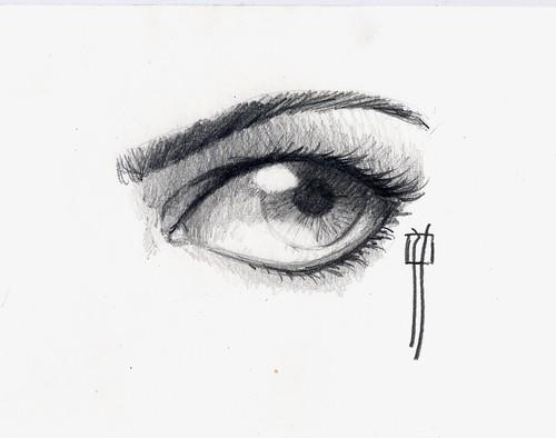 pencil eye