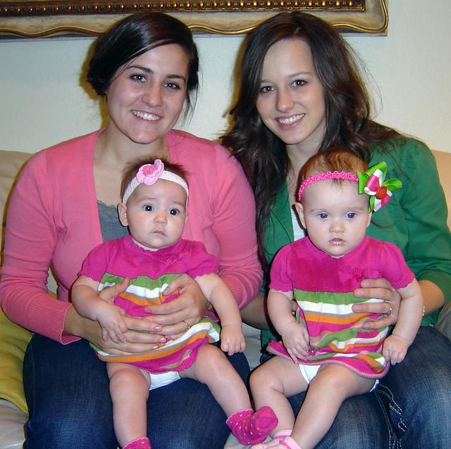 Afton, Roni & babies