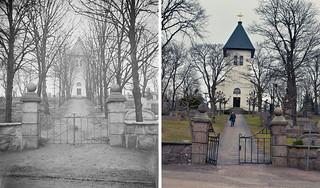 Gothenburg, Backa kyrka 1925 / 2012