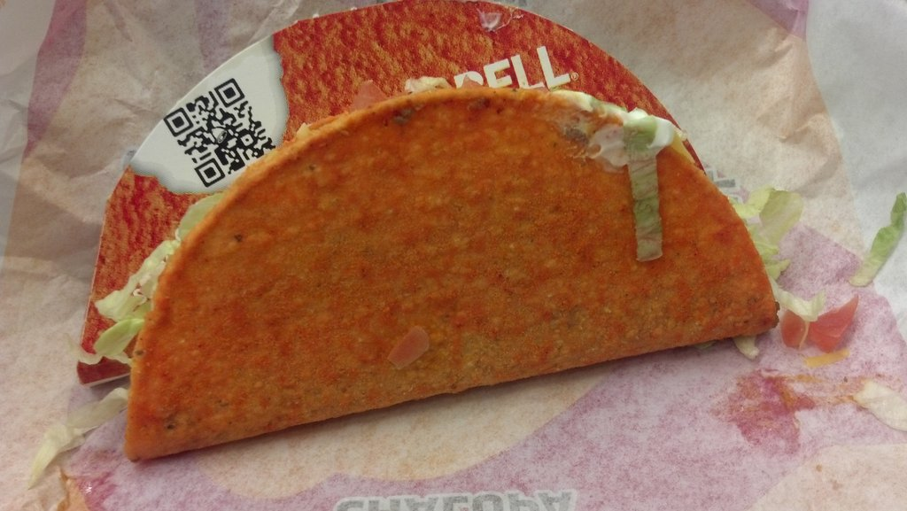 Oh, @tacobell why hasn't this happened sooner? I am so going to go broke! #Delicious #Doritos #Taco
