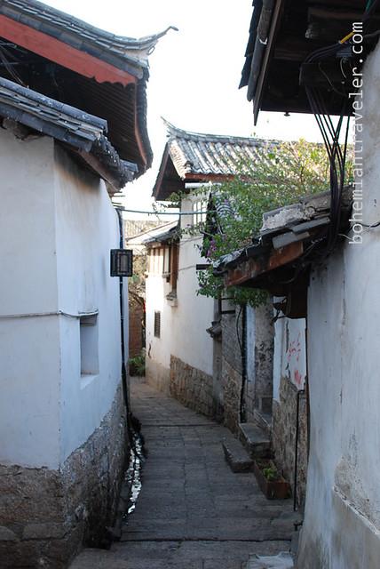 street of Lijiang Yunnan