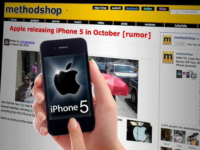 Rumor: Apple Releasing iPhone 5 In October