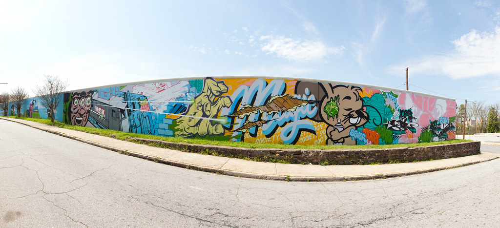 Castleberry Hills  Wall Panorama