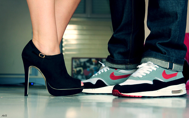 heels and sneakers flickr photo sharing