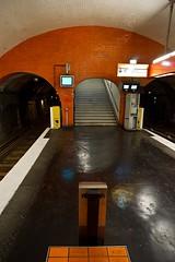 Métro Parisien RATP Place des Fêtes