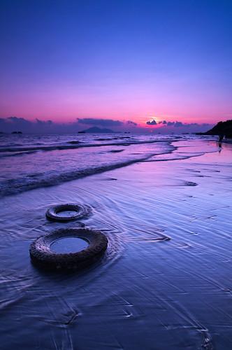sunset landscape hongkong pentax 香港 tuenmun k7 龍鼓灘 lungkwutan 屯門 日出日落 晨昏 flickrhongkong flickrhkma