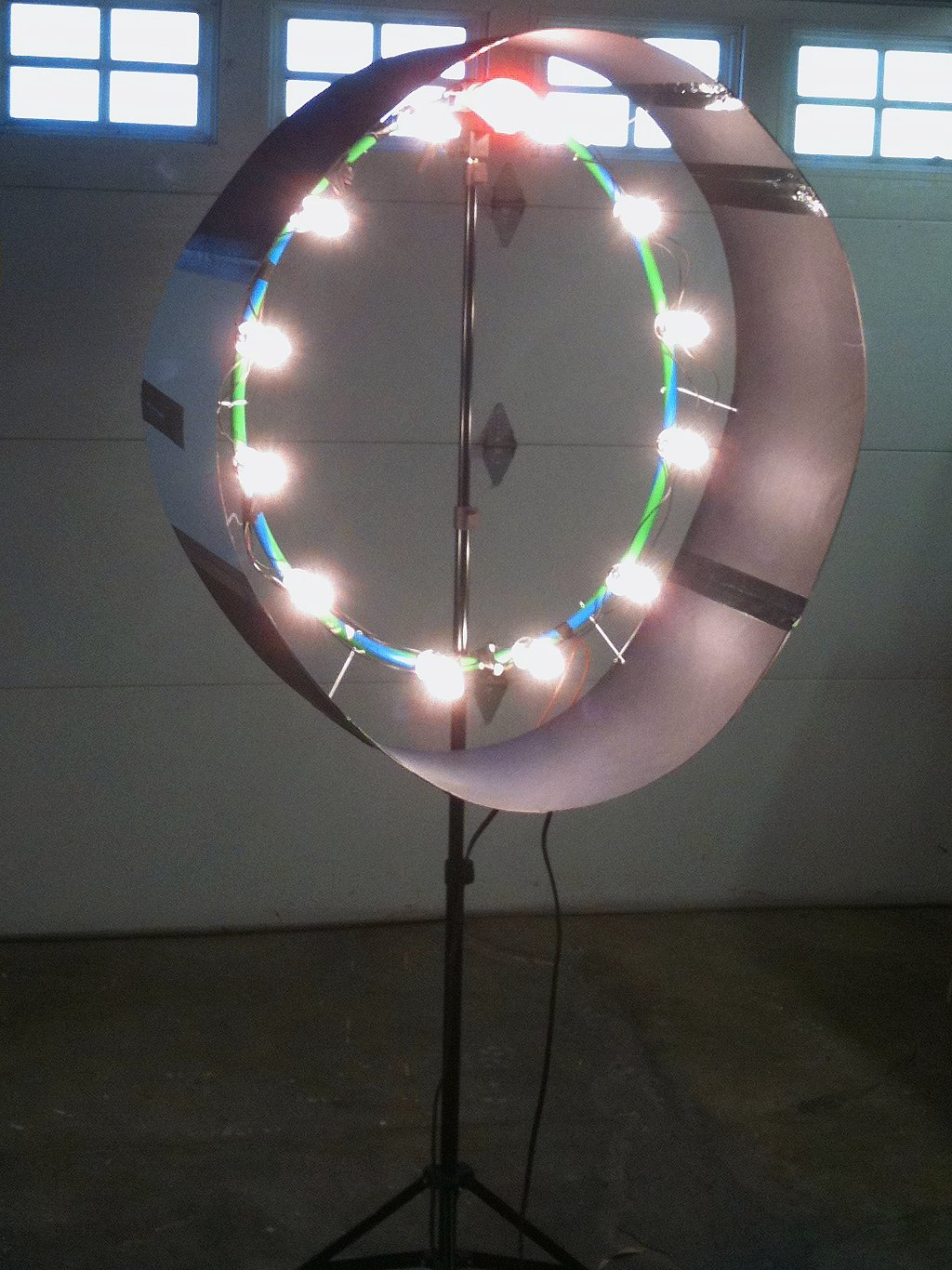 Continuous Ring Light For Video