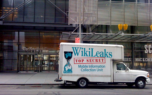 Wikileaks Top Secret Mobile Information Collection Unit visits The New York Times on the 4th of July, by WikiLeaks Mobile