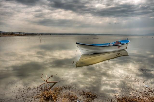 Alone, Manyas Lake
