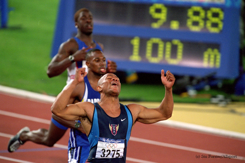 2000 Sydney Olympic Games: 100m Men's Finals