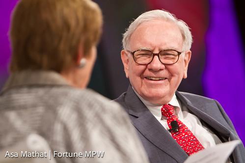 le milliardaire américain Warren Buffett