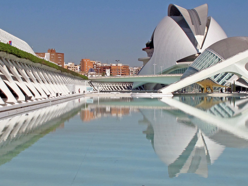 Beautiful Modern Architecture Of Valencia Spain 7 Flickr
