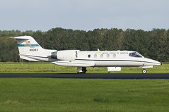 aviation, learjet 35, airplane, vehicle, business jet, jet aircraft, aircraft engine,