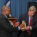 Agriculture Secretary Tom Vilsack receives 2011 Chairman's Award