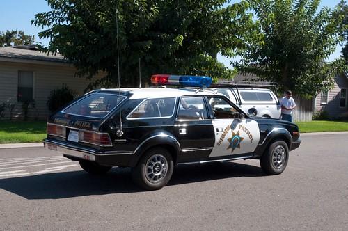 california usa policecar chp ripon californiahighwaypatrol sanjoaquincounty 1982amceagle riponmenloparkemergencyvehicleshow2011