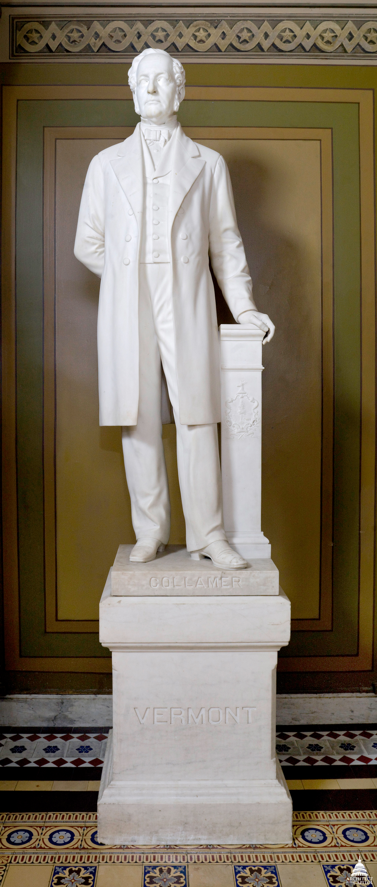 Jacob Collamer Architect Of The Capitol