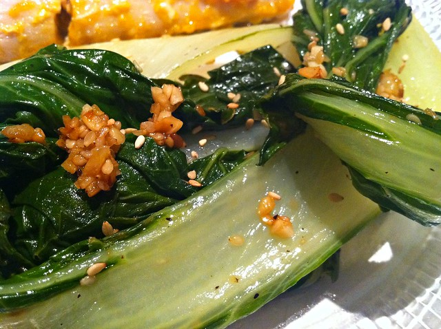 mango coconut mahi-mahi with spicy bok choy – ugly food ...