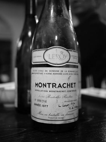 Montrachet DRC 1977