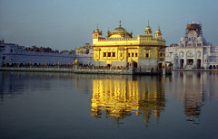 sunlight on the Golden Temple