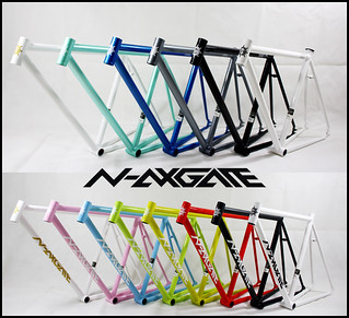 N-avigate fixed gear 2012 frame...