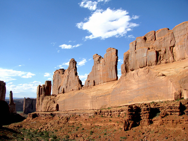 Arches National Park, Parque Nacional de los Arcos, Utah, Estados Unidos.