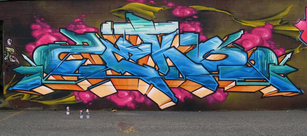 Подборка работ канадского граффити