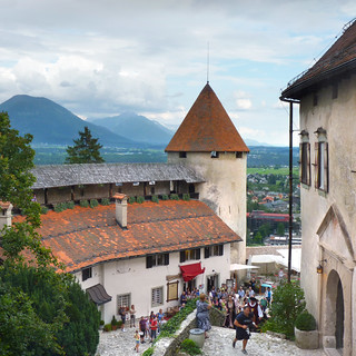 A romantic wedding at Bled Castle
