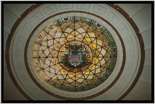 county house building art glass stain architecture court pennsylvania seat murals style places tourist historic pa dome empire second government courthouse register deco domes cambria registry attraction preservation nrhp onasill ebensberg