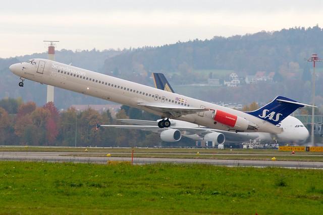 SAS MD-82 LN-RLF