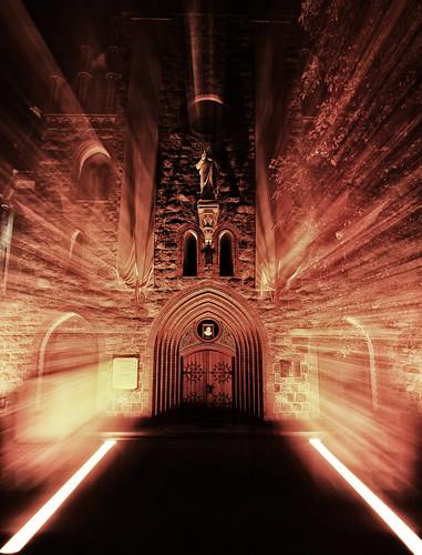 church night canon eos gate poland polska 7d efs 1022 noc marcin gdynia kościół wrota gawroński