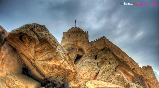 Mixture of Man-Made & Nature… Nakhal Fort . . . Oman . . . HDR