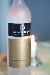 2009 Jackson Triggs Gold White Meritage