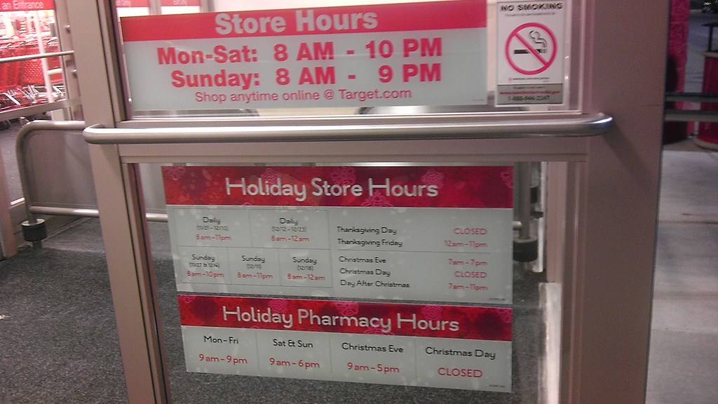 Target - Fort Dodge, Iowa - Holiday Store Hours! - a photo on ...