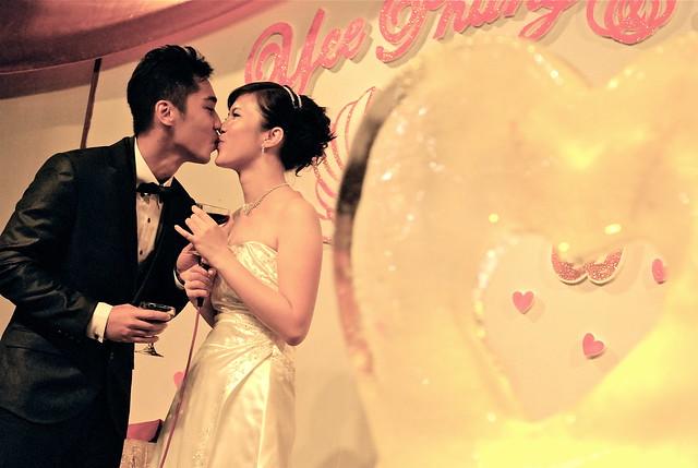 以鹏 and Allison 的婚礼
