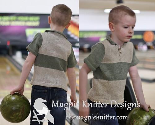 Bowling Shirt Polo combo pic