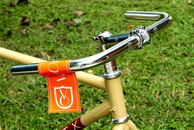 Velo Orange Belleville Handlebar RETRO fixed gear 22.2