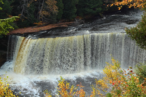 Upper Tahquamenon Falls Detail