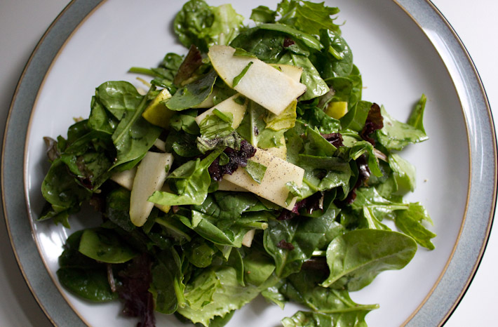 Lunch. Salad.