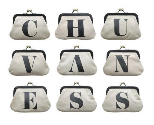 Chuvaness x Alphabet Bags